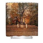 Autumn Guardians Shower Curtain