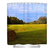 Autumn Hay 3 Shower Curtain