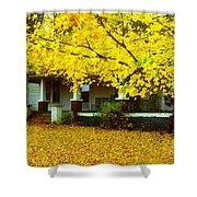 Autumn Homestead Shower Curtain