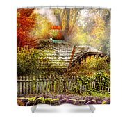 Autumn - House - On The Way To Grandma's House Shower Curtain