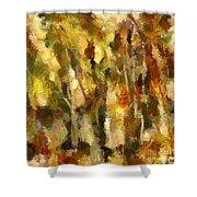Autumn Impression 2 Shower Curtain