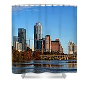 Autumn In Austin Shower Curtain