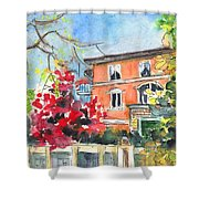 Autumn In Bergamo 01 Shower Curtain