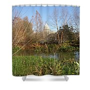 Autumn In Washington Dc Shower Curtain