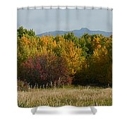 Autumn In Idaho Shower Curtain