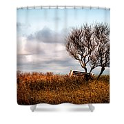 Autumn In Maine Shower Curtain