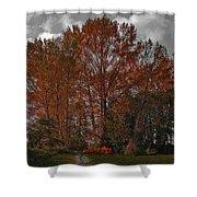Autumn In Mt Vernon Shower Curtain