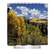 Autumn In New Mexico Shower Curtain