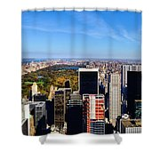 Autumn In New York City Shower Curtain
