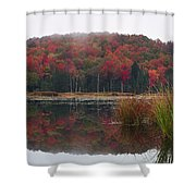 Autumn In Northern Vermont Shower Curtain