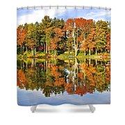 Autumn In Ohio Shower Curtain