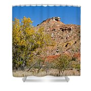 Autumn In Palo Duro Canyon 110213.119 Shower Curtain