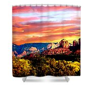 Autumn In Red Rock State Park Shower Curtain