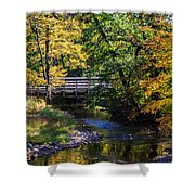 Autumn In Stillwater Shower Curtain