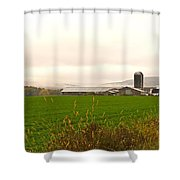 Autumn In The Butternut Valley-seven Shower Curtain