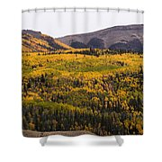 Autumn In The Colorado Mountains Shower Curtain