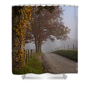 Autumn In The Cove Shower Curtain