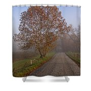 Autumn In The Cove V Shower Curtain