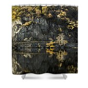 Autumn In The Lake Shower Curtain