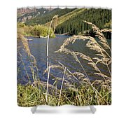 Autumn In The Maroon Bells Shower Curtain