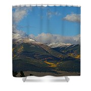 Autumn In The Sangres Shower Curtain