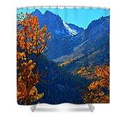 Autumn In The Sierras Shower Curtain