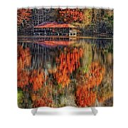 Autumn In The Smokey's Shower Curtain