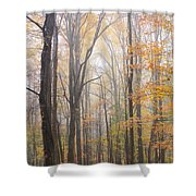 Autumn In The Smoky Mountains Shower Curtain