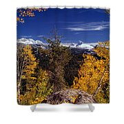 Autumn In The Tetons Shower Curtain