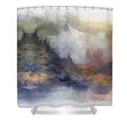 Autumn In The Usa  Photo Art Shower Curtain