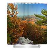 Autumn In The Valley Shower Curtain