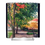 Autumn In Vancouver Washington Shower Curtain