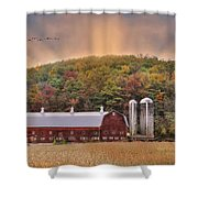 Autumn In Wellsboro Shower Curtain