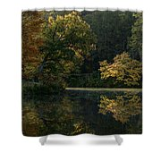 Autumn Light Shower Curtain