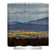 Painting With Autumn Light Shower Curtain