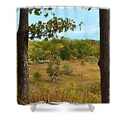 Autumn Look Out Shower Curtain