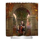 Autumn Melody Shower Curtain