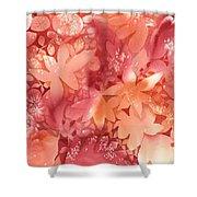 Autumn Monochrome Shower Curtain