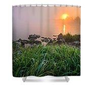 Autumn Morning II Shower Curtain