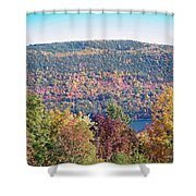 Autumn Mountain Shower Curtain