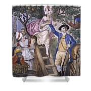 Autumn, Negro Servant, C.1780 Shower Curtain