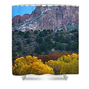 Autumn Of The Gods Shower Curtain