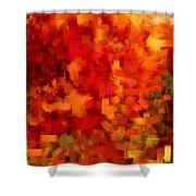 Autumn On My Mind Shower Curtain