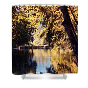 Autumn On The Applegate Shower Curtain