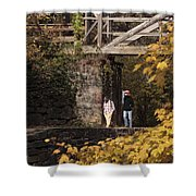 Autumn On The C And O Canal Shower Curtain