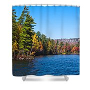 Autumn On The Fulton Chain Of Lakes In The Adirondacks IIi Shower Curtain
