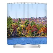 Autumn On The Fulton Chain Of Lakes In The Adirondacks Iv Shower Curtain