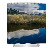 Autumn On The Klamath 10 Shower Curtain
