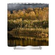 Autumn On The Klamath 3 Shower Curtain