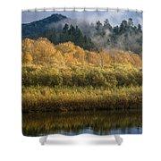 Autumn On The Klamath 4 Shower Curtain